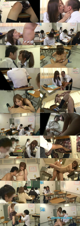 [HUNT 642] 僕の席の前に座る超まじめで気の弱い女子がある日突然、白いブラウスから透ける程の派手な下着を付けてきた!じっ~と眺めていたら授業中にも関わらず思わず勃起!!ガマンできなくなって偶然を装ってお尻に軽く触れたら予想以上に敏感に反応! HUNT