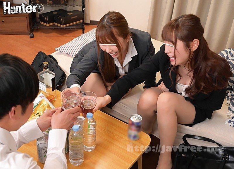 [HD][HUNTA-990] ボクの目の前で憧れの先輩女子社員2人がまさかの濃厚キス&イカせ合い!かと思ったらボクのイカせ合いに!会社の飲み会後、2人の先輩女子社員が… - image HUNTA-990-2 on https://javfree.me