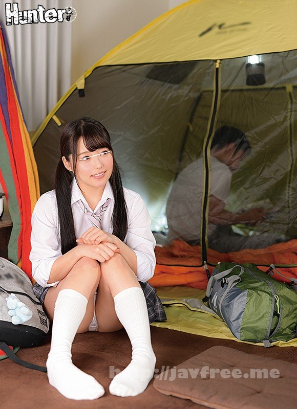 [HD][HUNTA-994] 「私も一緒に泊まりたい!」学校がイヤになって自分の部屋でソロキャンプ。ボクを心配して来た幼馴染と狭いテントの中で2人きり密着添い寝!! - image HUNTA-994-2 on https://javfree.me