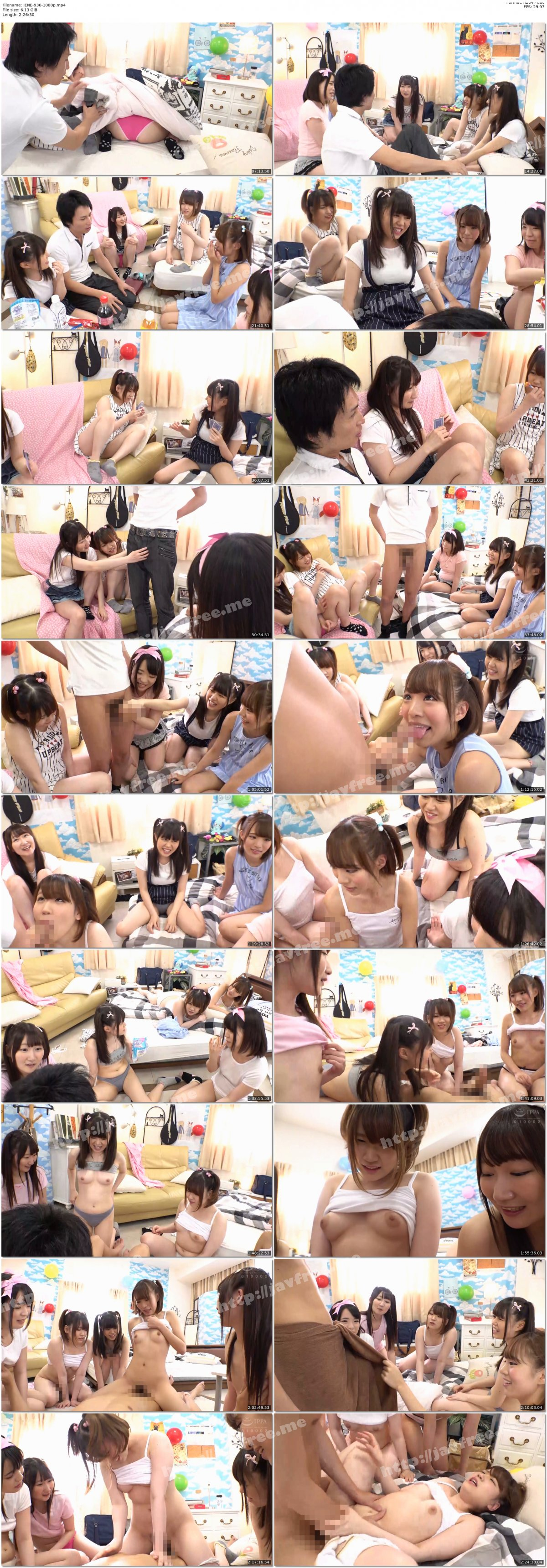[HD][IENE-936] 職場の仲良しグループを一網打尽!家に連れて来ちゃった美少女たちをイタズラ三昧 - image IENE-936-1080p on https://javfree.me