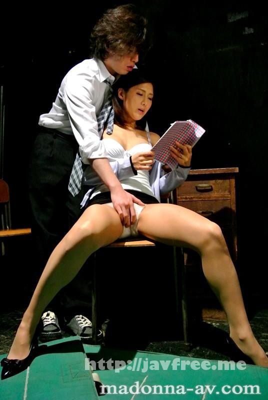 [JUX 539] Madonna専属女優が卑猥に語らう 人妻女教師 恥じらい淫語 5時限目は生徒たちの前で… 原ちとせ 原ちとせ JUX