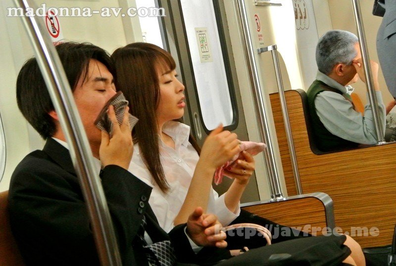 [JUX 657] 弱冷房車 汗だく凌辱 人妻 通勤快速 痴漢電車 本田岬 本田岬 JUX