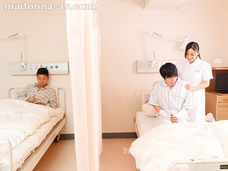 [HD][JUY-625] 入院先で働く叔母に我慢できず勃起チ○ポの性処理をお願いしたらこっそり世話をしてくれて…。 白木優子 - image JUY-625-1 on https://javfree.me