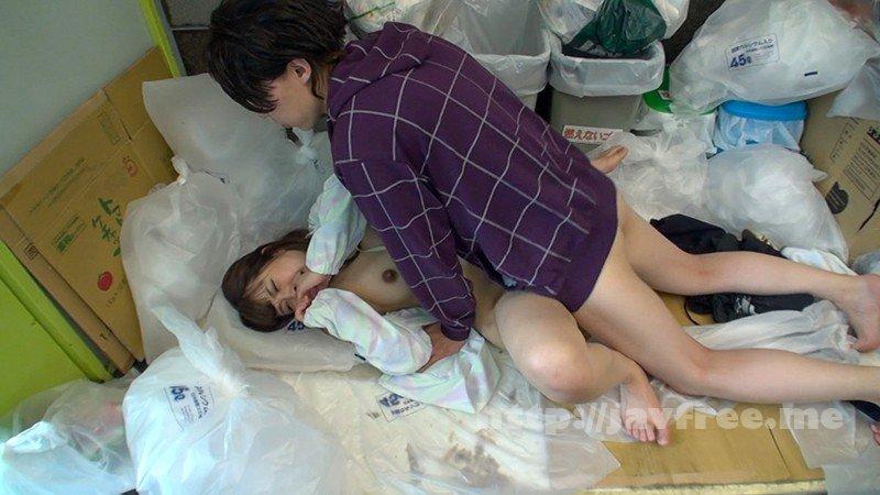 [HD][KAGP-036] ゴミ捨て場でノーブラ奥さんと遭遇 胸チラに興奮したのでその場で犯して中出し - image KAGP-036-4 on /