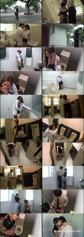 [KIL 024] 仕事中にエロ妄想が止まらないOLは、欲求不満解消のために男をトイレに誘惑して… KIL
