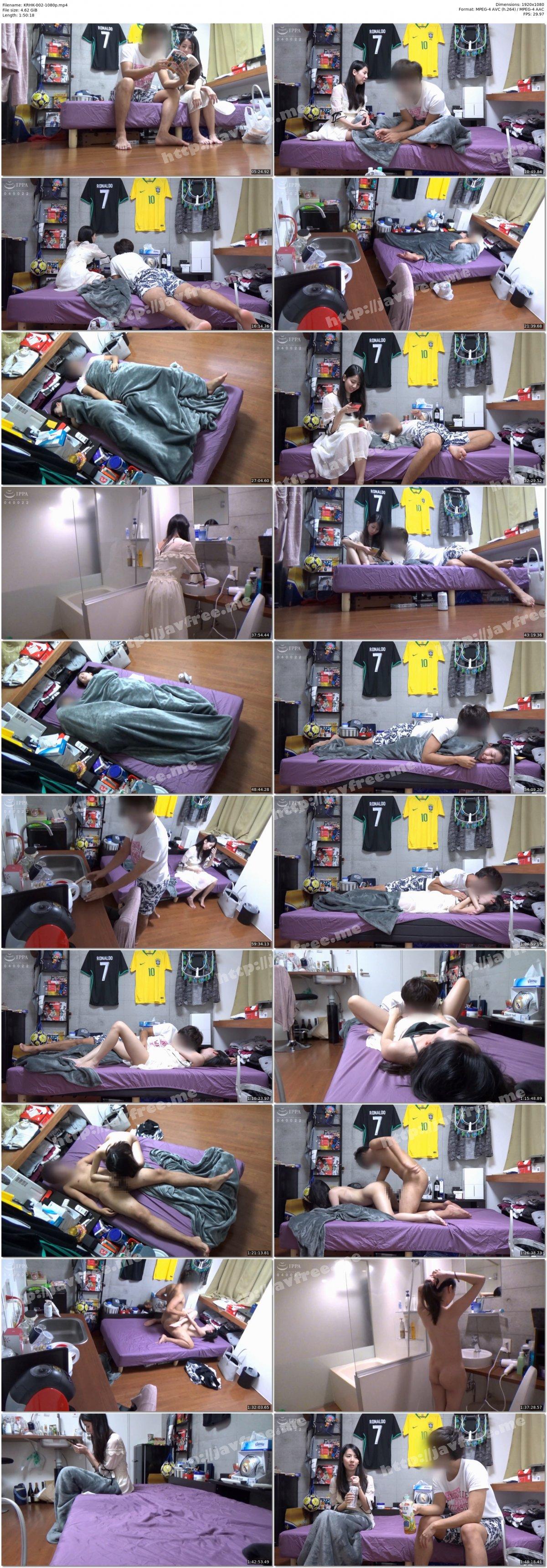 [HD][KRHK-002] 男友達に連れ込まれたオフ中のAV女優 紗凪美羽(28) 素のSEX隠し撮り - image KRHK-002-1080p on https://javfree.me