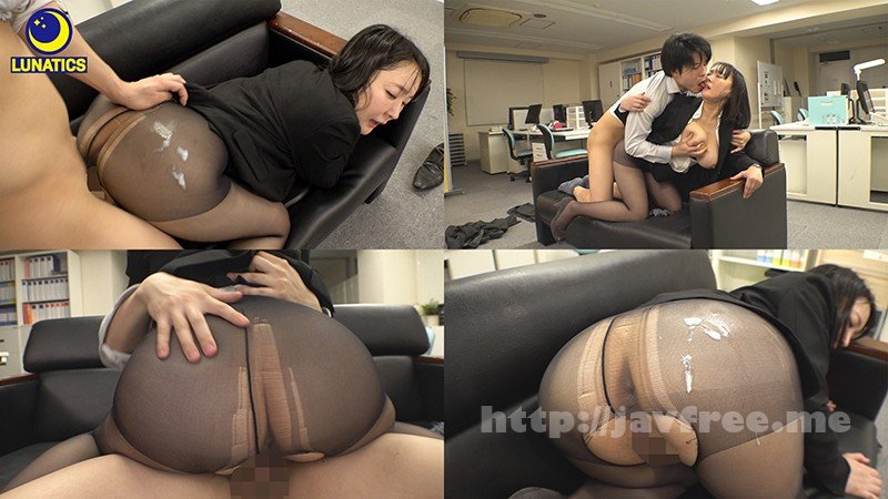 [HD][LULU-030] これは残業中のオフィスでデカ尻女上司の肉感タイトスカート尻に我慢できず毎日尻射した記録映像です。 羽生アリサ