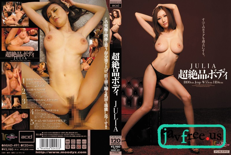 [HD][MIAD-491] 超絶品ボディ JULIA - image MIAD-491 on https://javfree.me
