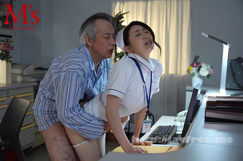 [HD][MVSD-475] 脅迫ナースコール 声が出せない相部屋病室で絶倫クズ男の不潔な巨根で何度もイカされ中出しされた献身人妻ナース 妃ひかり - image MVSD-475-5 on https://javfree.me
