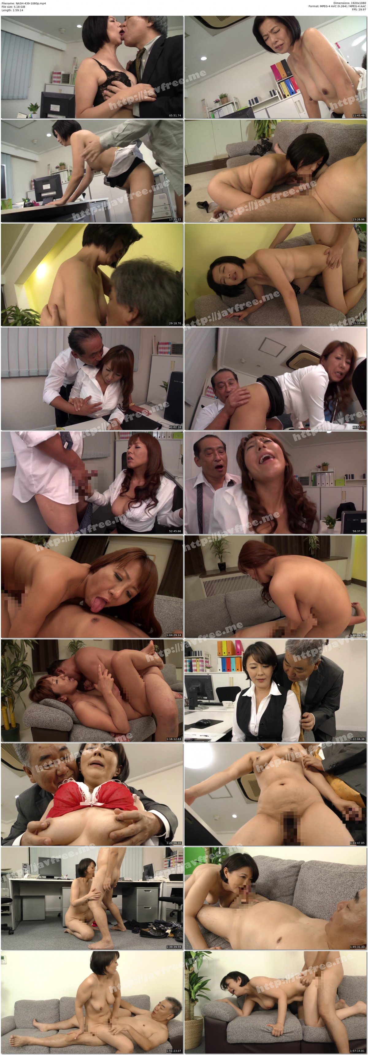 [HD][NASH-439] パート先で犯●れた五十路母 - image NASH-439-1080p on https://javfree.me