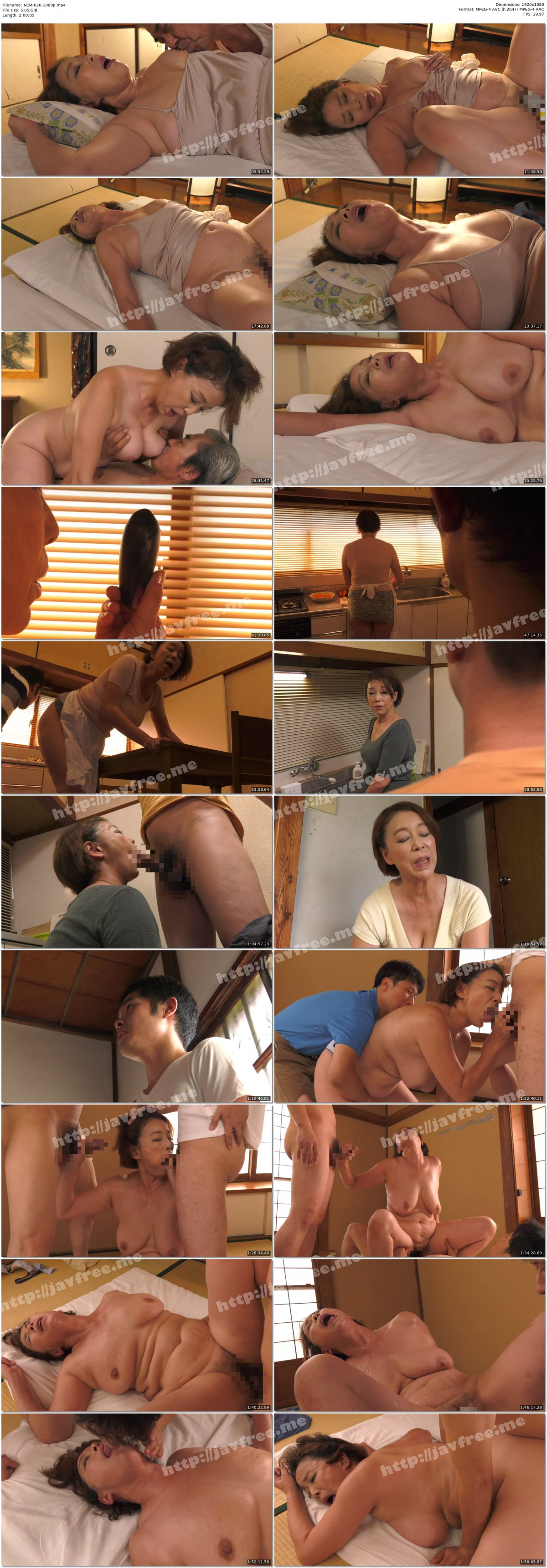 [HD][NEM-026] 真・異常性交 五十路母と子 其ノ拾壱 二人の息子に求められた熟母 青井マリ