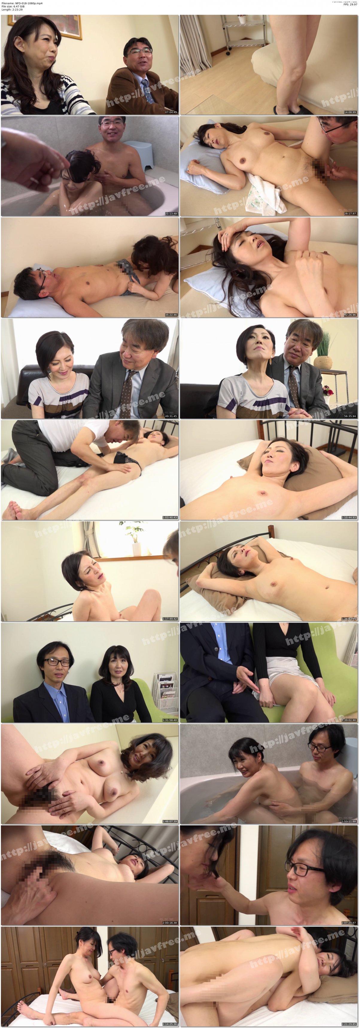 [HD][NFD-018] 実録 中高年の夫婦生活 参 3組のカップルの充実したセックスライフ - image NFD-018-1080p on https://javfree.me