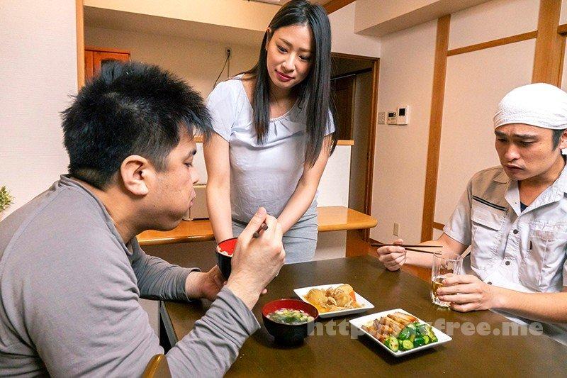 [HD][NGOD-125] 夫が長距離運送中、自宅でまめどろされた妻 春菜はな
