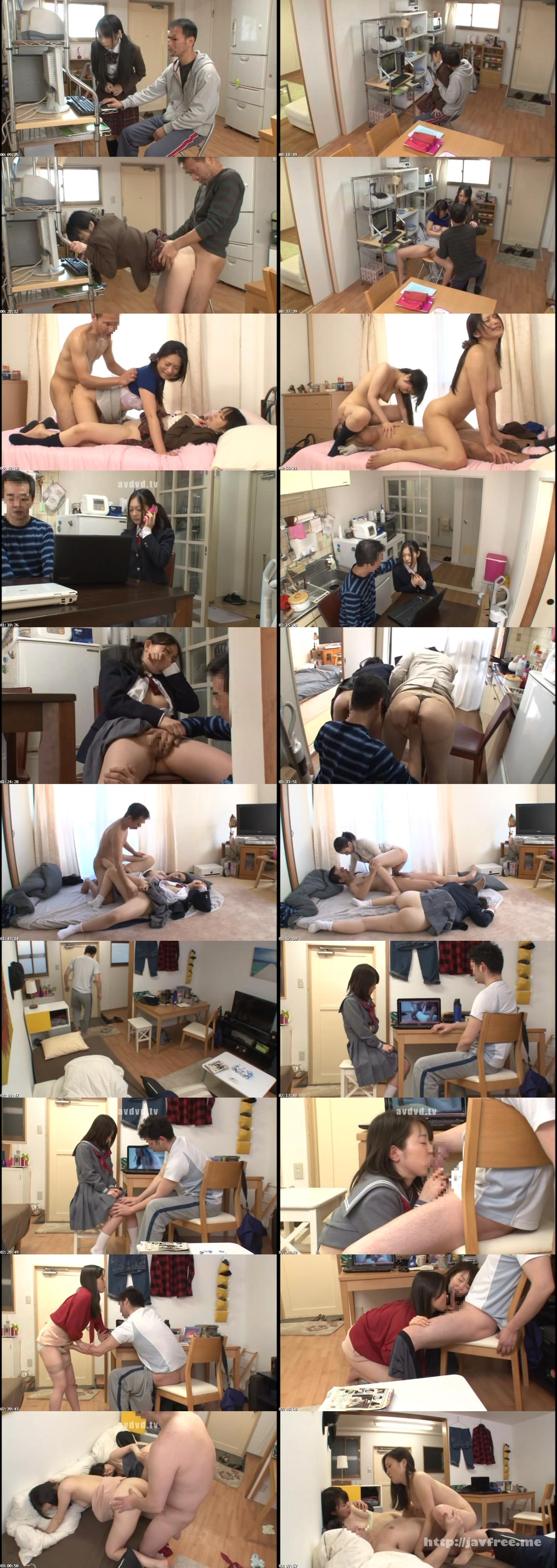 [NHDTA-537] パソコンに入っていた自分の母親のハメ撮り動画で興奮した隣の家の娘と恥ずかしい姿を見られ拒めなくなった母親を並べて親子丼 - image  on https://javfree.me
