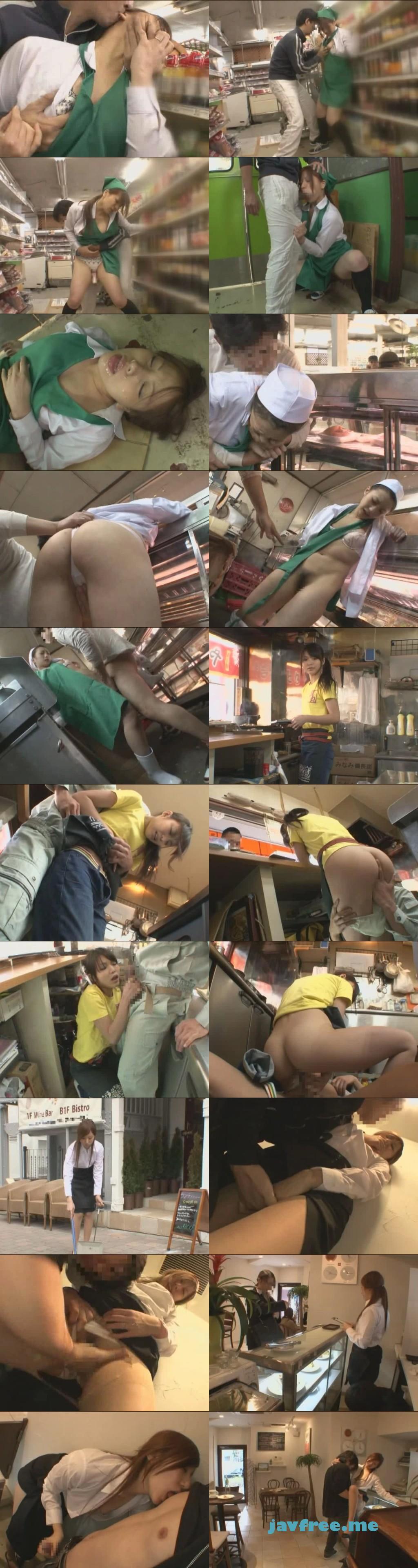 [NHDTA-252] 接客中に顔を紅潮させながら感じまくるパート妻 ~スーパーレジ、精肉コーナー、カフェ、焼き鳥屋~ - image NHDTA252 on https://javfree.me