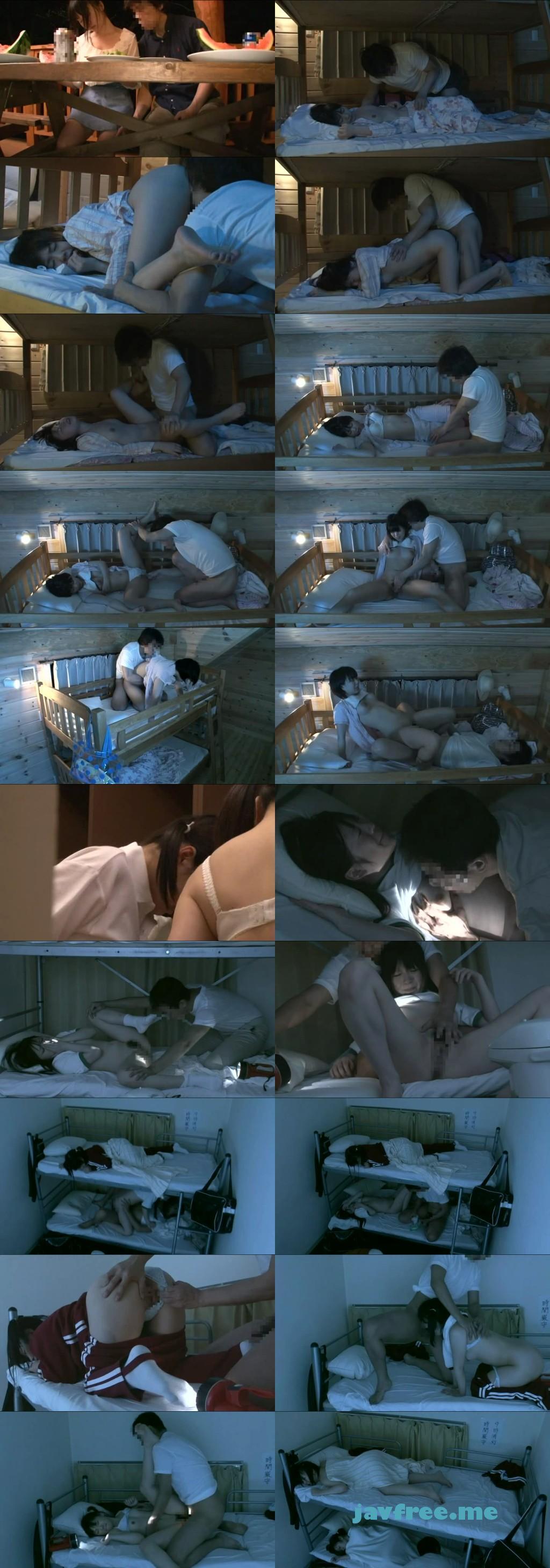 [NHDTA 277] 2段ベッドが揺れるほど感じる姉の喘ぎ声を聞いて発情しだす妹 5 夏休みSP NHDTA
