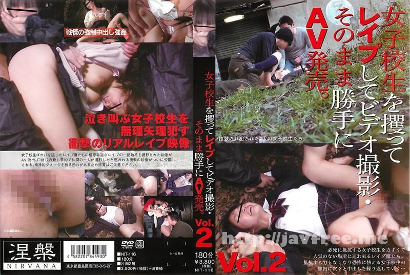 [NIT-116] 女子校生を攫ってレイプしてビデオ撮影・そのまま勝手にAV発売。Vol.2 - image NIT-116 on https://javfree.me