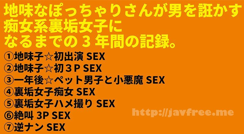 [HD][NKHB-004] Mカップ樽モンスター豪華丼 7SEX収録×4時間 ~地味子がカリスマ裏垢女子になるまでの3年間の記録~ - image NKHB-004-1 on https://javfree.me