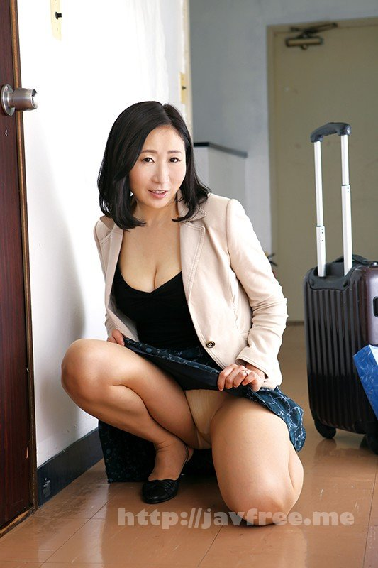 [HD][OFKU-094] 茨城から上京した嫁の母が…茨城美人 緒方泰子48歳
