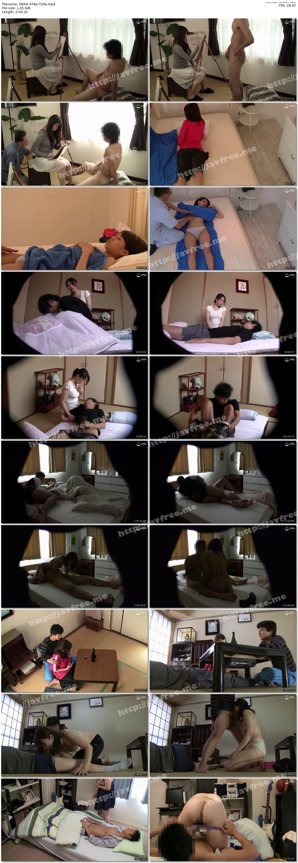 [HD][OKAX-478] 寝取らせドッキリ!人妻をダマシて若い男と二人きりにしてみたら…4時間 - image OKAX-478a-720p on https://javfree.me