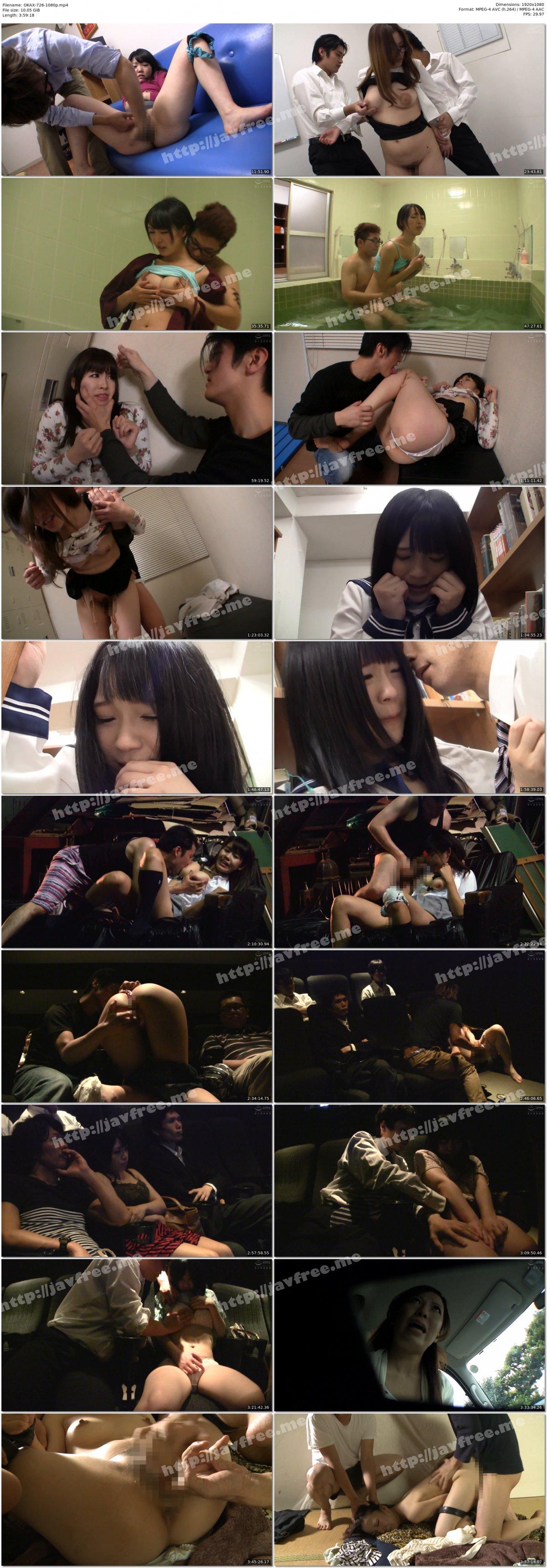 [HD][OKAX-726] 「お願い!本当にやめて…」痴姦に遭い不本意ながらオマ○コを濡らしてしまった素人オンナたち4時間 - image OKAX-726-1080p on https://javfree.me