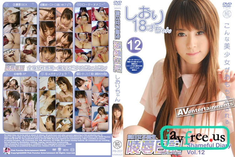 [PB 207] Shameful Diary Vol.12 : Shiori Kitajima 陵辱日記 喜多嶋しおり Shiori Kitajima Shameful Diary Pink Puncher PB