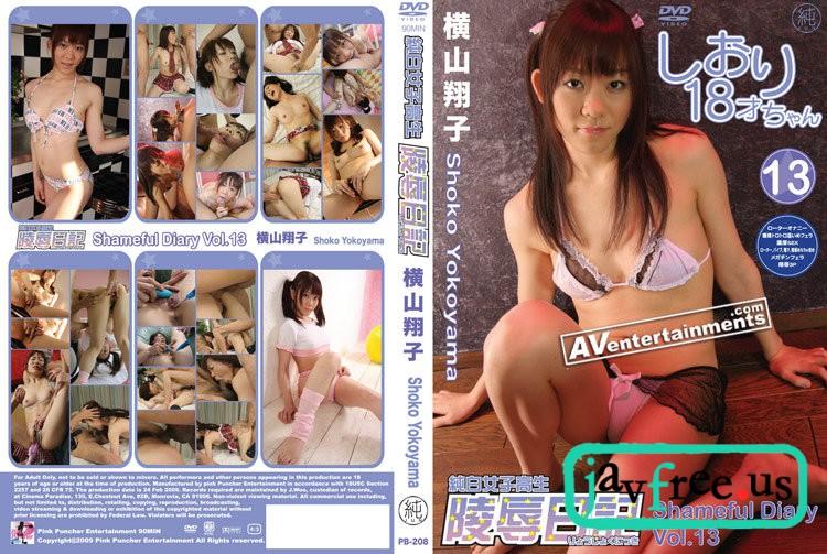 [PB 208] Shameful Diary Vol 13   Shoko Yokoyama Shoko Yokoyama Shameful Diary PB