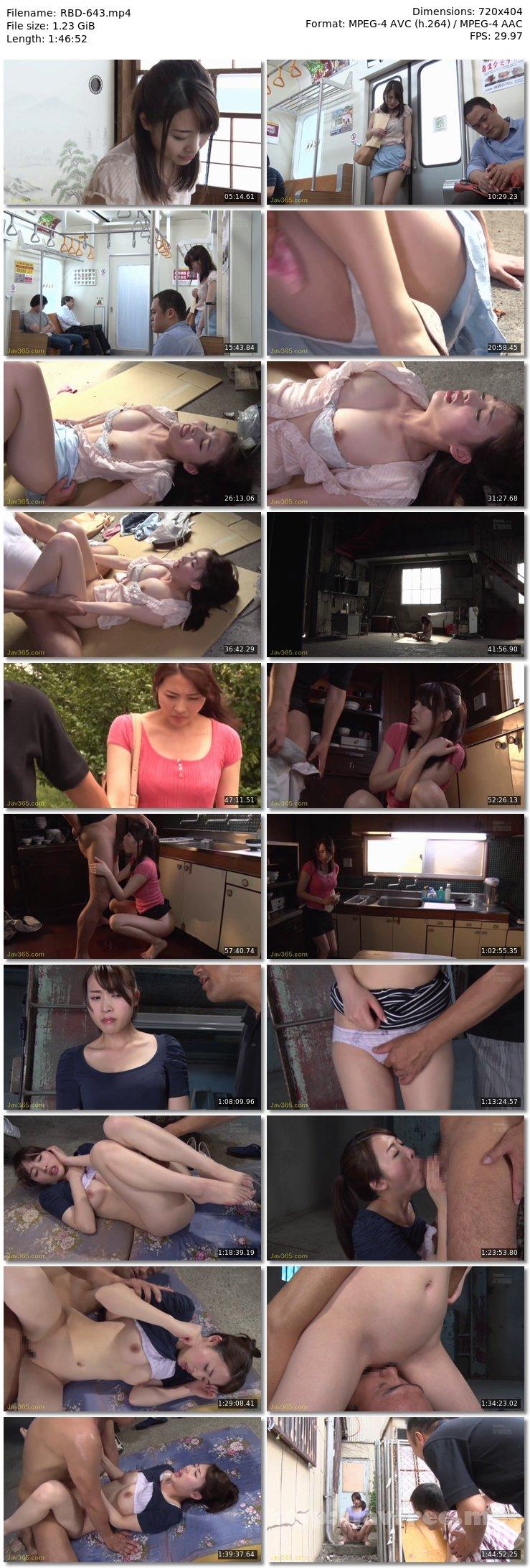 [RBD 643] おもらし羞恥 恥辱に濡れた快感 本田岬 本田岬 RBD