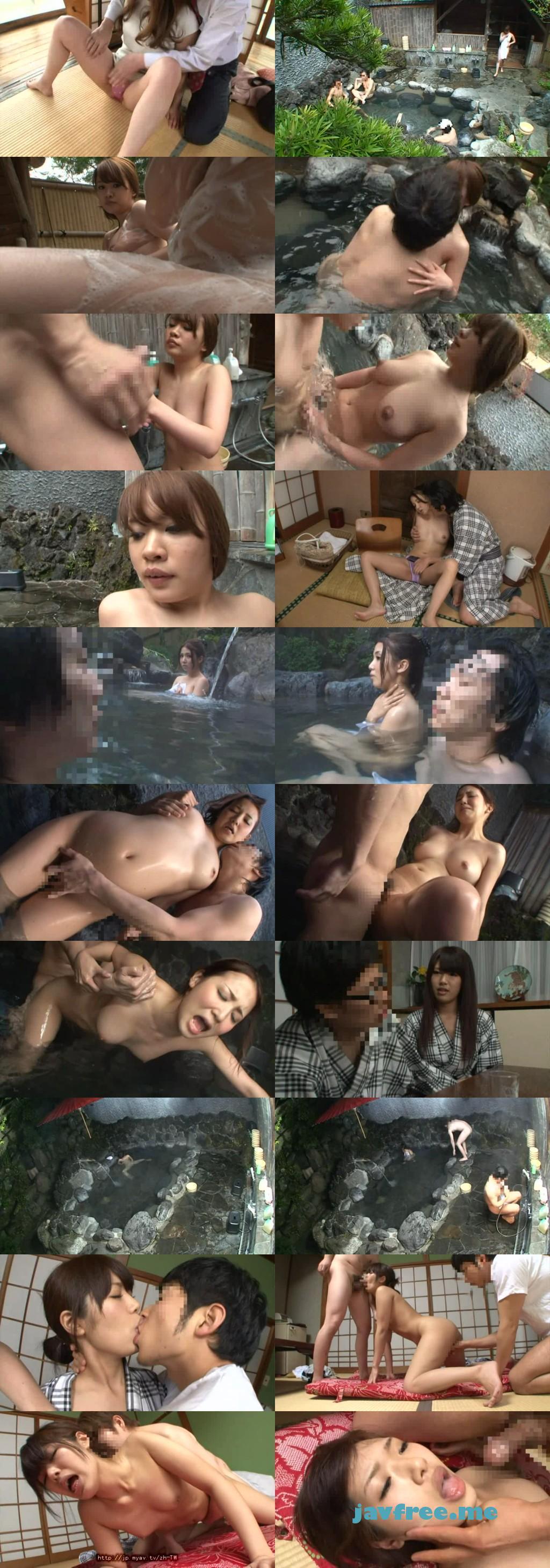 [RDD 117] 混浴露天風呂に居合わせた、欲求不満そうないい女が僕にエッチな視線を投げ掛けてきて… 森島純 桐原さとみ 友田彩也香 RDD