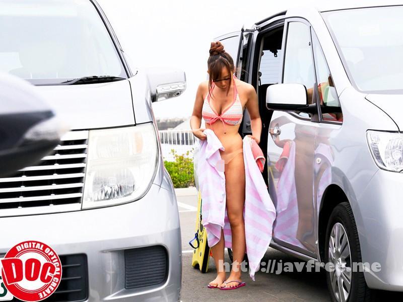 [RDT 198] 海の駐車場で生着替えする美巨乳女を偶然目撃してしまった僕は… RDT