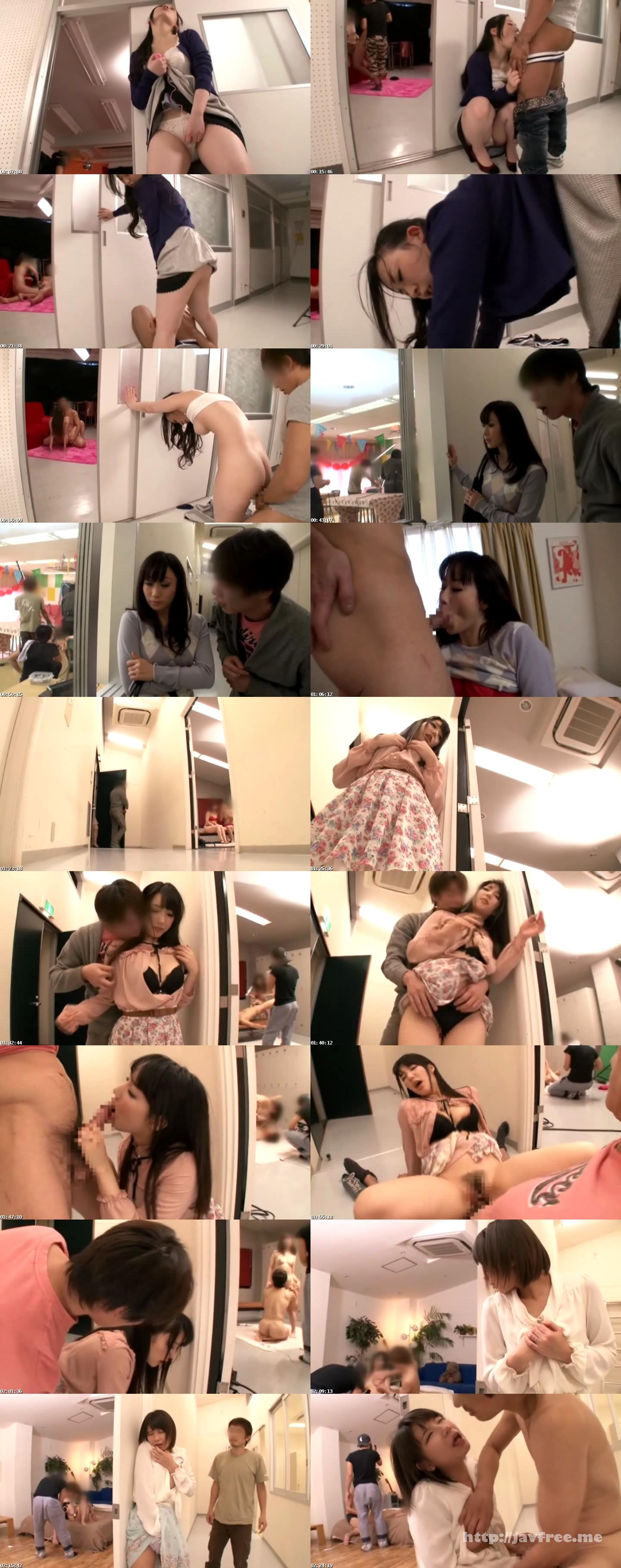 [SCOP 225] AV撮影現場を見学して疼いた若妻はどんな男のチ●ポも受け入れる!? SCOP