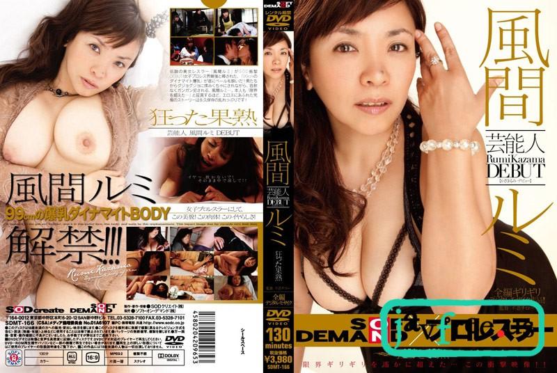 [DVD][SDMT-166] 芸能人 DEBUT 狂った果熟 風間ルミ - image SDMT-166 on https://javfree.me
