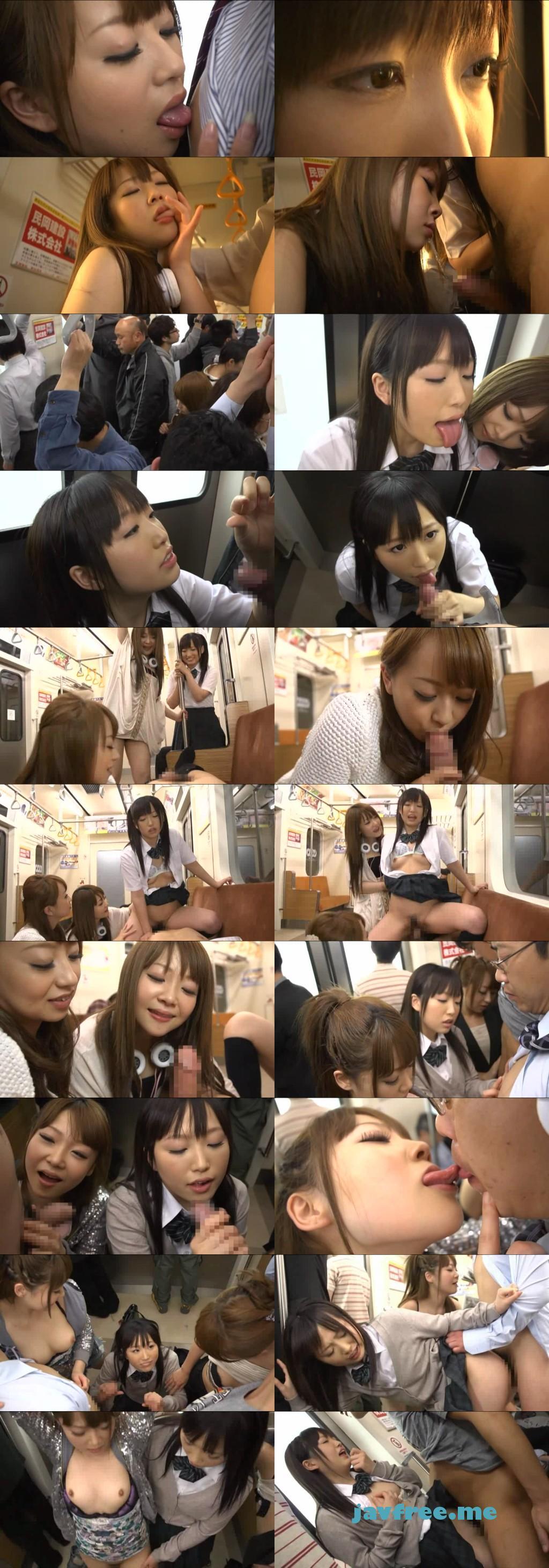 [SDMT-766] 電車内で低身長の痴女たちに立ったまま乳首を舐められながらイカされる - image SDMT766 on https://javfree.me