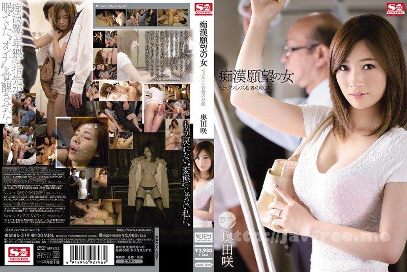 [SNIS-319] 痴漢願望の女 セックスレス若妻の昼顔 奥田咲 - image SNIS-319 on https://javfree.me