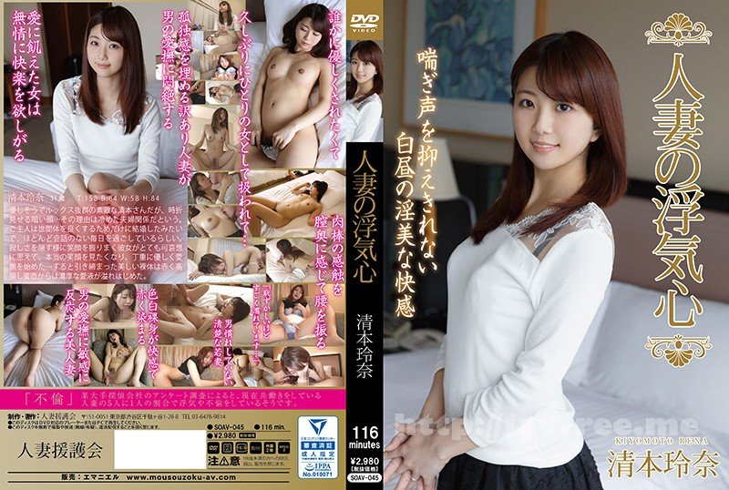 [HD][SOAV-045] 人妻の浮気心 清本玲奈 - image SOAV-045 on https://javfree.me