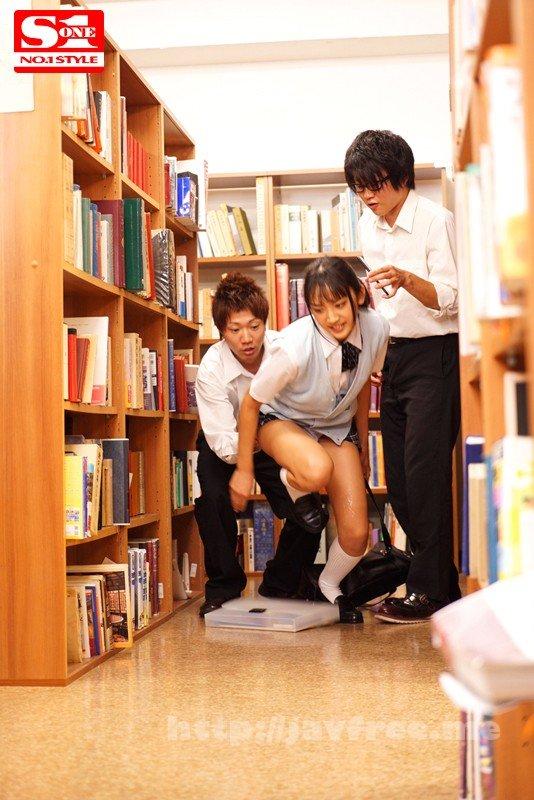 [HD][SSNI-147] 過激痴漢図書館 声も出せず、抵抗もできない状況で痴漢されて…。 辻本杏