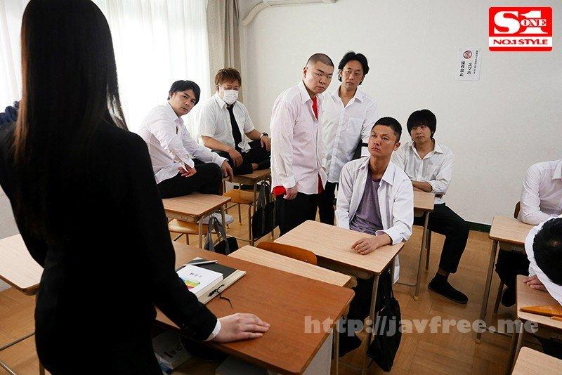 [HD][SSNI-800] 輪●レ○プされた美脚新任女教師 ~弱みを握られ生徒たちに犯●れた私~ 花宮あむ