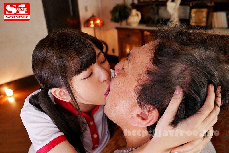 [HD][SSNI-836] 華奢な少女と中年おやじのねっとり体液交換、ひたすら接吻性交 槙いずな