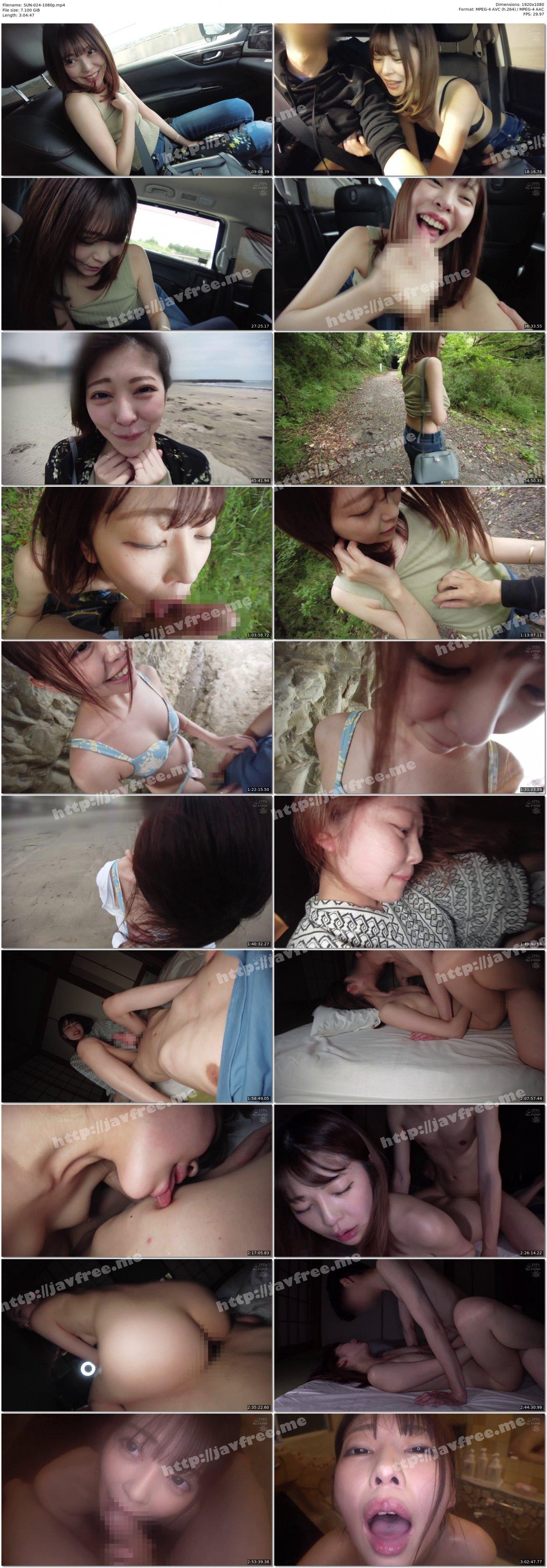 [HD][SUN-024] 美顔精飲 仕事が休みの火曜日、露出デートで中出しと精子を飲みまくった記録 - image SUN-024-1080p on https://javfree.me