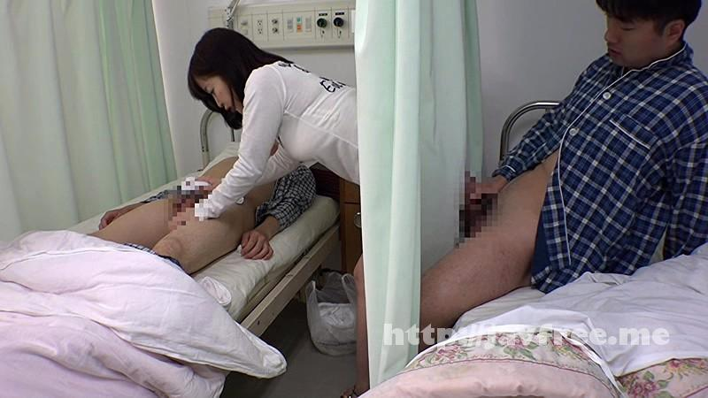 [SW 277] 彼氏の見舞いに来た女の無防備パンチラに隣のベッドで下半身だけ元気になってしまった僕。カーテン越しに痴漢したら女もその気になって彼氏の寝てる横で僕の上にまたがってきた! SW