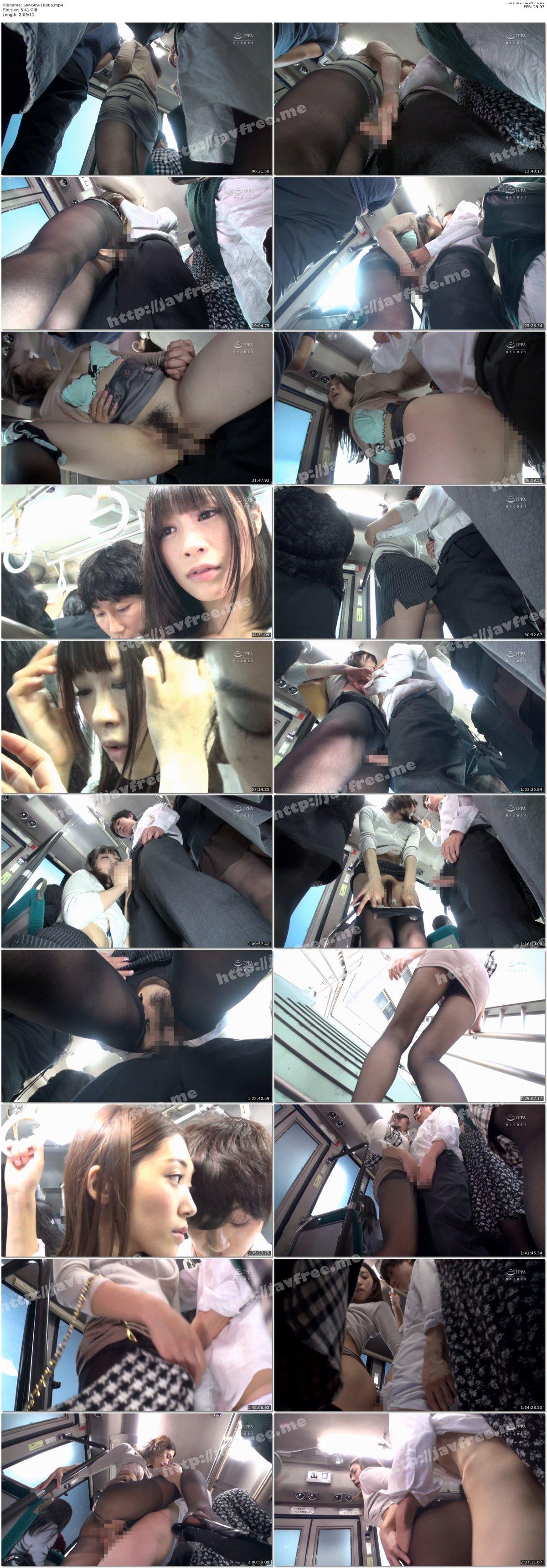 [HD][SW-609] 満員バスで女子社員の黒パンストむっちり尻が通学中の僕の敏感チ○ポにすりすりしてくるもんでギンギンなっちゃった!そんな元気チ○ポを握りしめずにはいられないムラムラお姉さんと、他の乗客にバレないようにこっそり挿入しちゃった! - image SW-609-1080p on https://javfree.me
