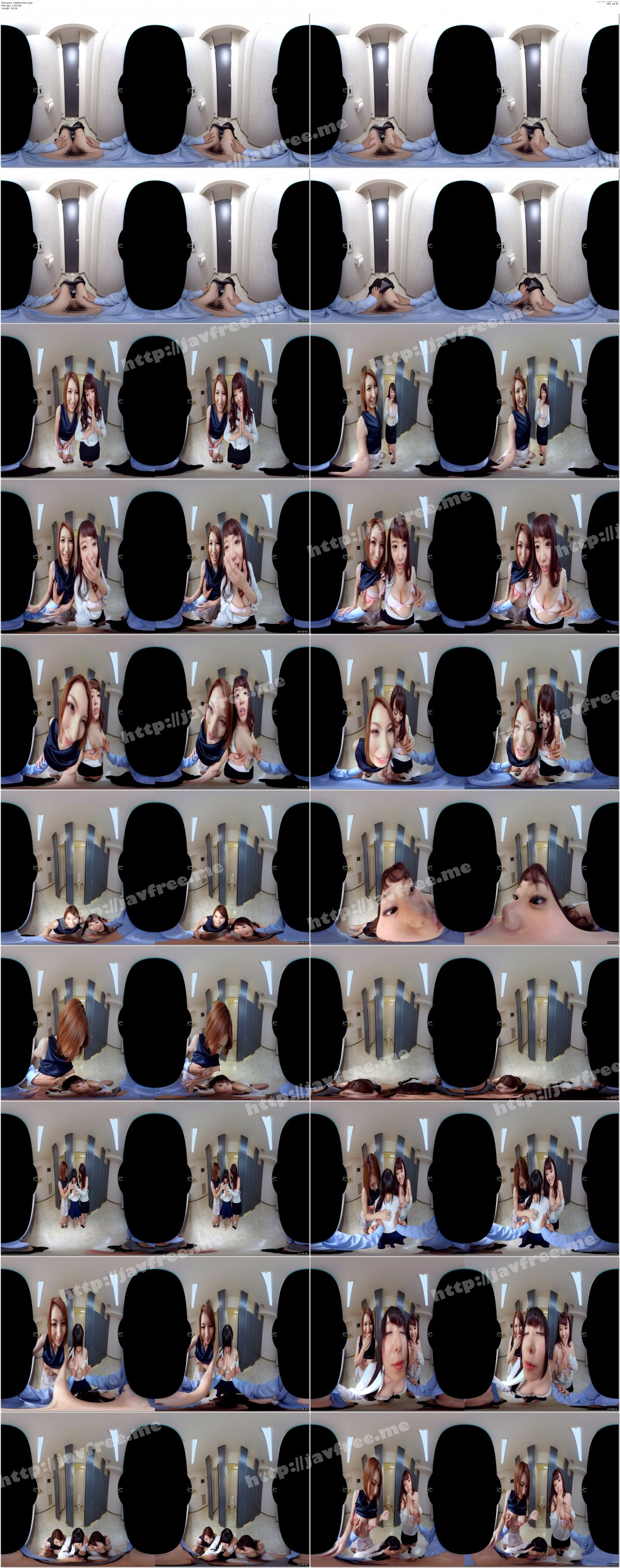 [VARM-033] 【VR】間違えて入った女子トイレで密着SEX - image VARM-033a on https://javfree.me