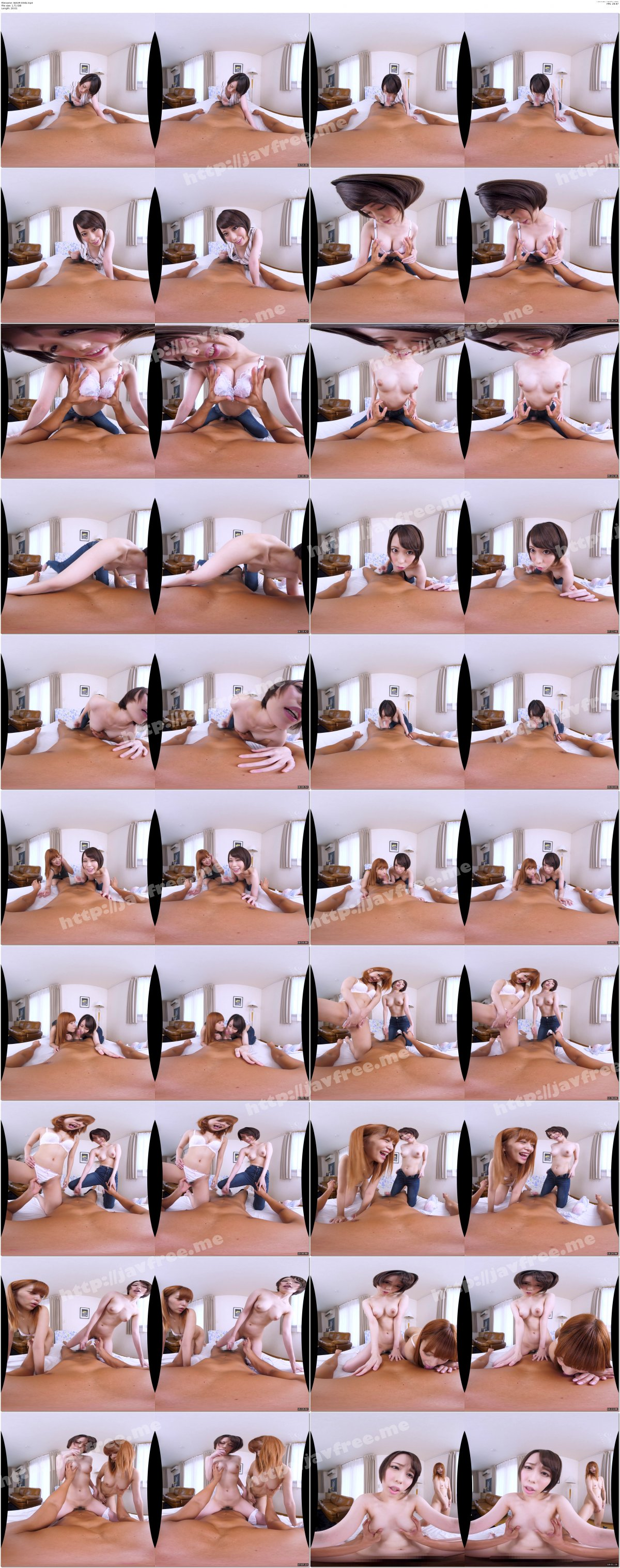 [WAVR-034] 【VR】3人の姉が朝・昼・晩。ところかまわず僕のチ○ポを狙ってきます…。 「おはよう」から「おやすみ」まで、ドスケベ三姉妹から性欲処理三昧VR!! - image WAVR-034b on https://javfree.me
