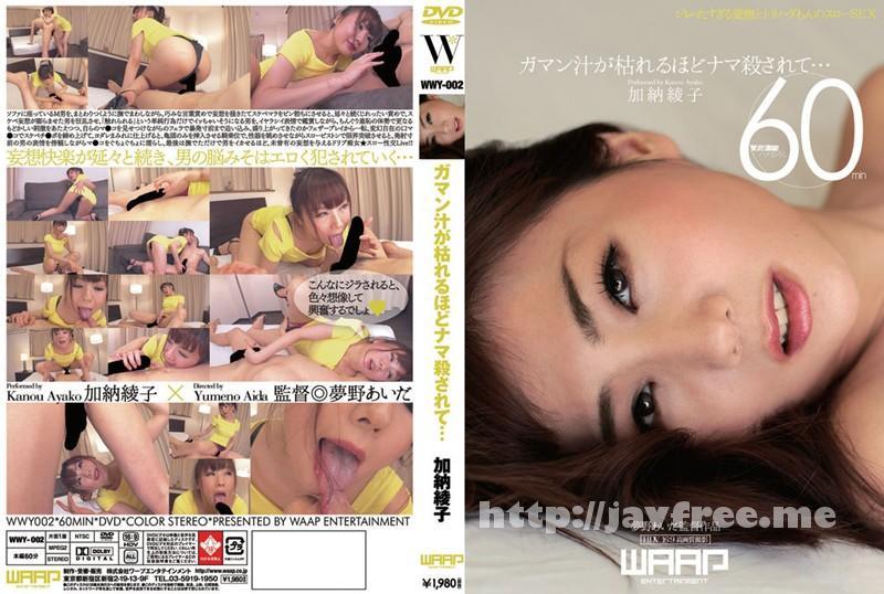 [WWY 002] ガマン汁が枯れるほどナマ殺されて… 加納綾子 加納綾子 WWY