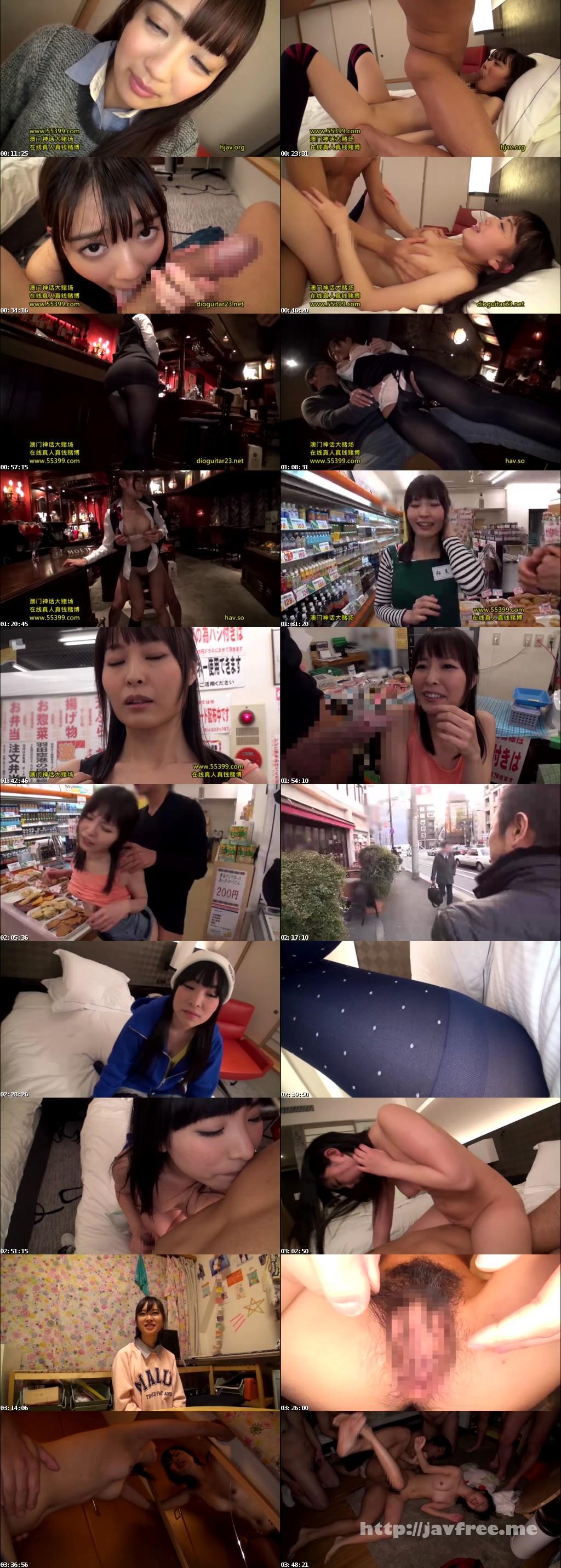 [YRH 042] 完全ガチ交渉!噂の、素人激カワ看板娘を狙え!vol.11 YRH