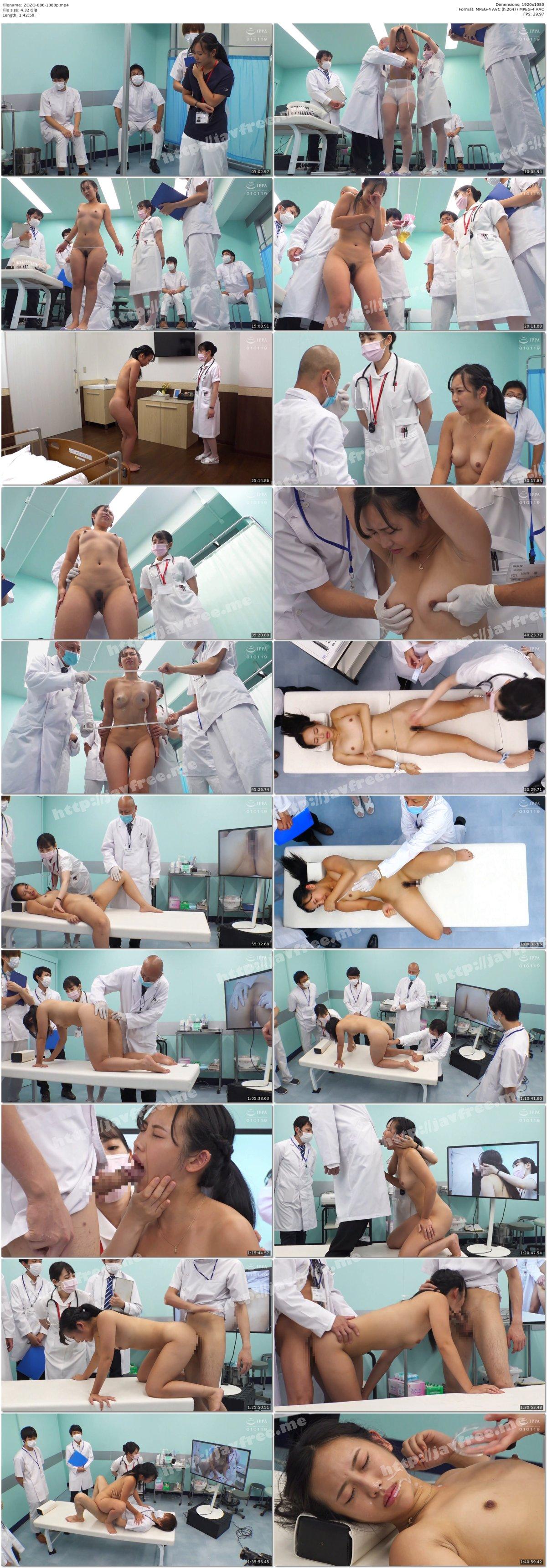 [HD][ZOZO-086] 羞恥!新卒看護師着任前健康診断~朝陽えま編~ - image ZOZO-086-1080p on https://javfree.me