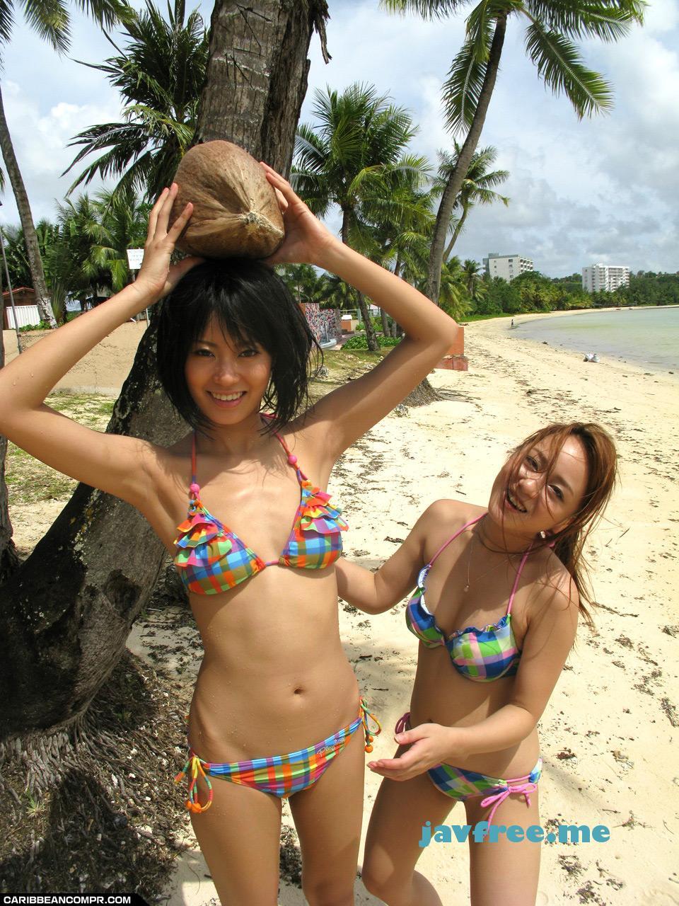 カリビアンコム プレミアム 122911_229 琥珀うた,夏川るい 南の島で極秘ハメハメハ・後編 - image caribppr-122911_229c on https://javfree.me