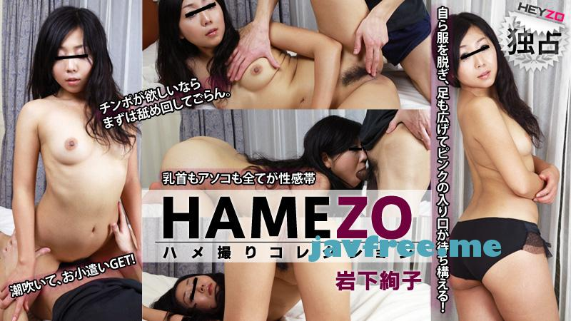 Heyzo 0068 HAMEZO~ハメ撮りコレクション~vol.11 岩下絢子  岩下絢子 heyzo