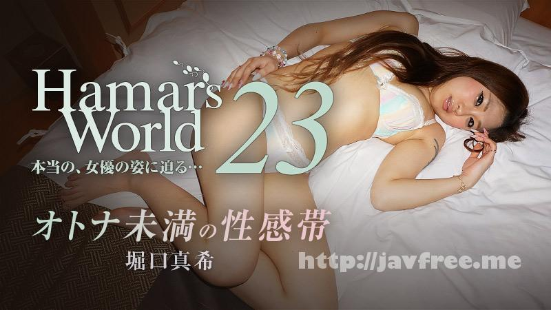 Heyzo 0915 堀口真希 Hamar's World 23~オトナ未満の性感帯~ - image heyzo_hd_0915_full on https://javfree.me