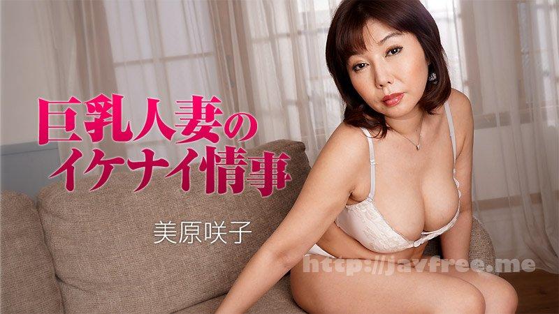 Heyzo 1791 巨乳人妻のイケナイ情事